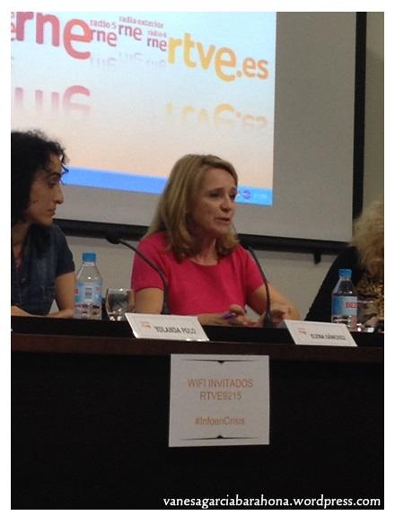 Elena Sánchez (Oficina Defensora del espectador, el oyente y el usuario de medios interactivos de RTVE)